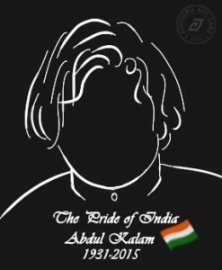Abdul Kalam, the Missile Man and Pride of India.
